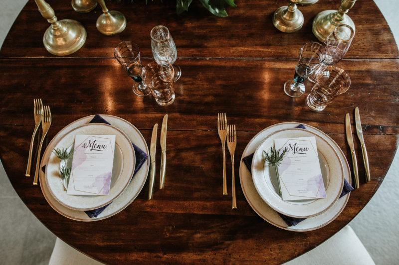 Come apparecchiare tavolo sposi