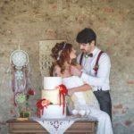Wedding cake oro
