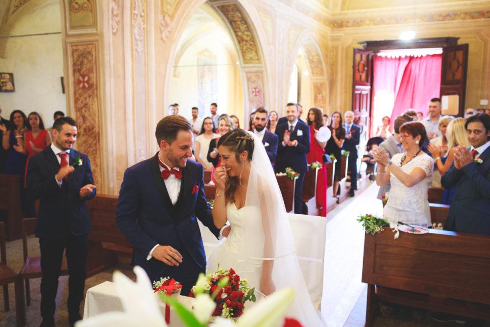 Allestimento fiori chiesa sposi