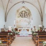 Allestimento chiesa matrimonio novara