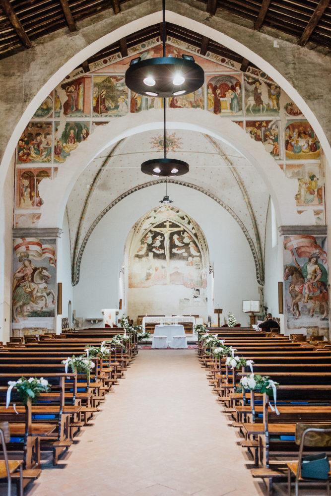 allestimento chiesa matirmonio novara