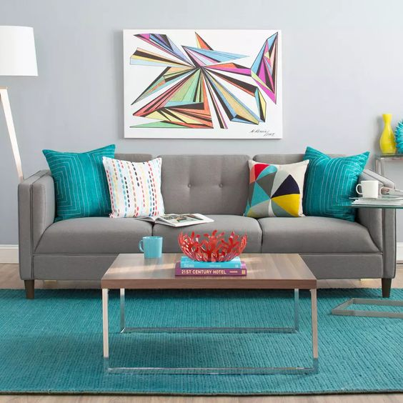 [Passione casa] Arredamento multicolor