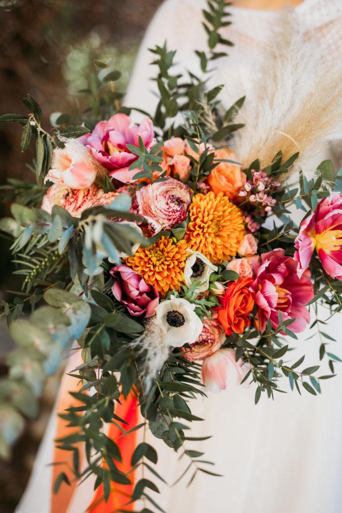 scegliere bouquet sposa arancione
