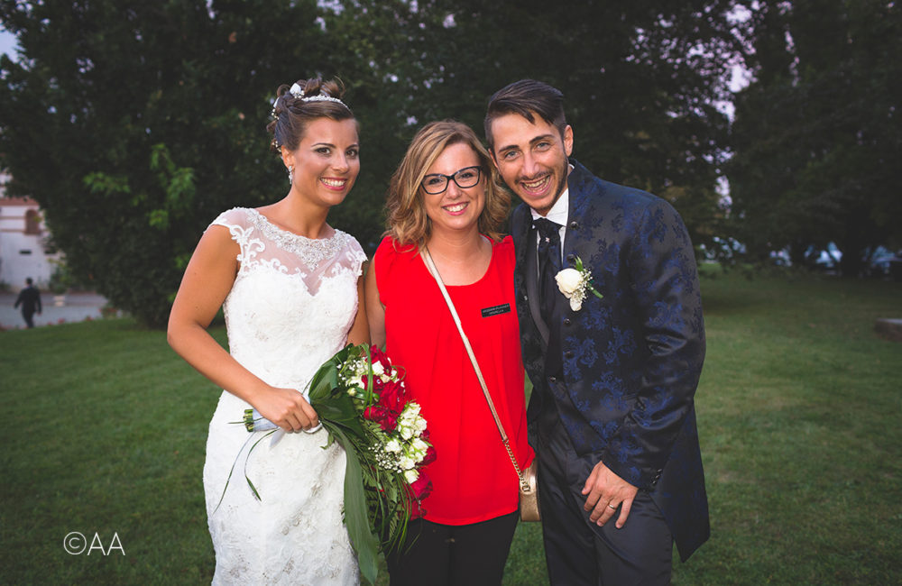 Sposi con wedding planner Sposami Oggi Alessandria
