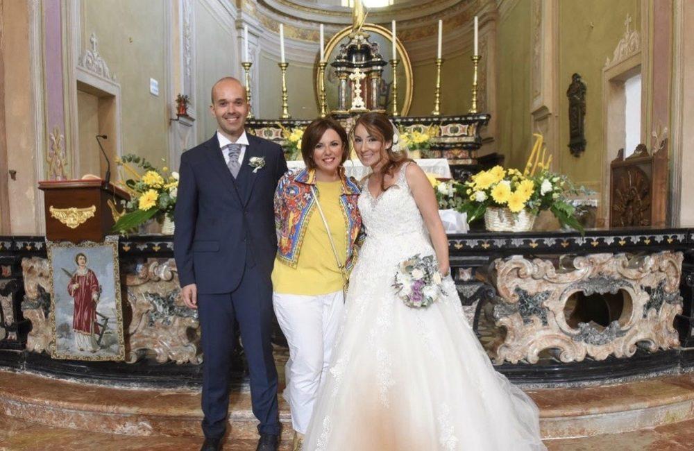 sposi con wedding planner Sposami oggi matrimonio Novara Piemonte