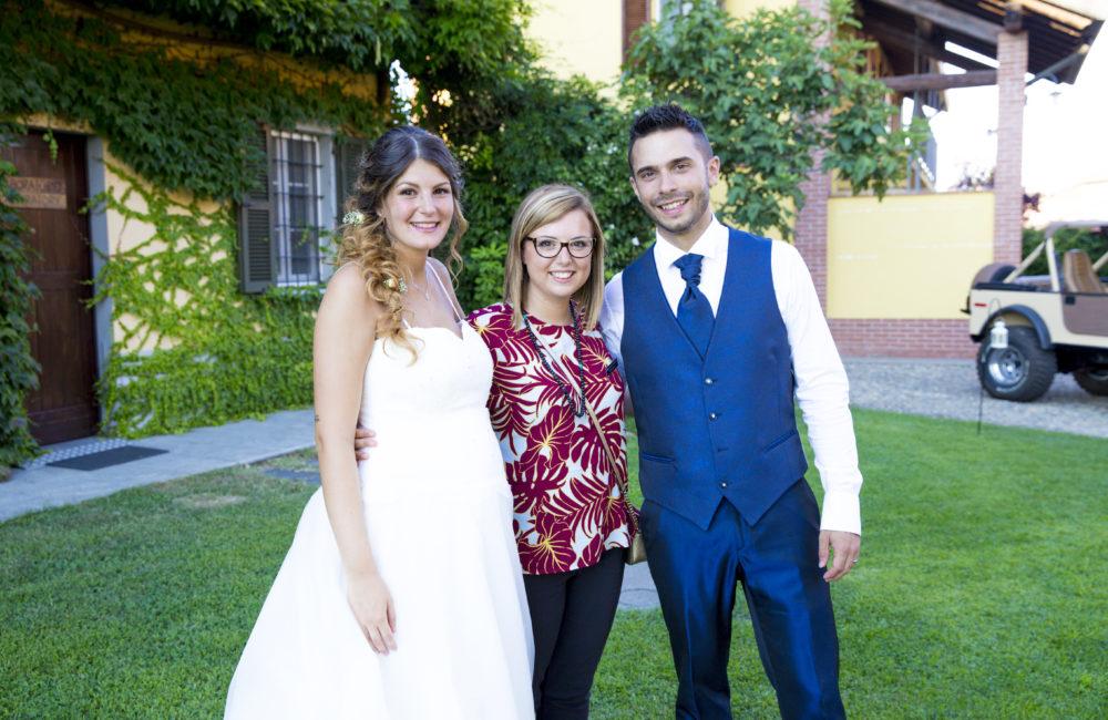 sposi con wedding planner Sposami oggi matrimonio Novara