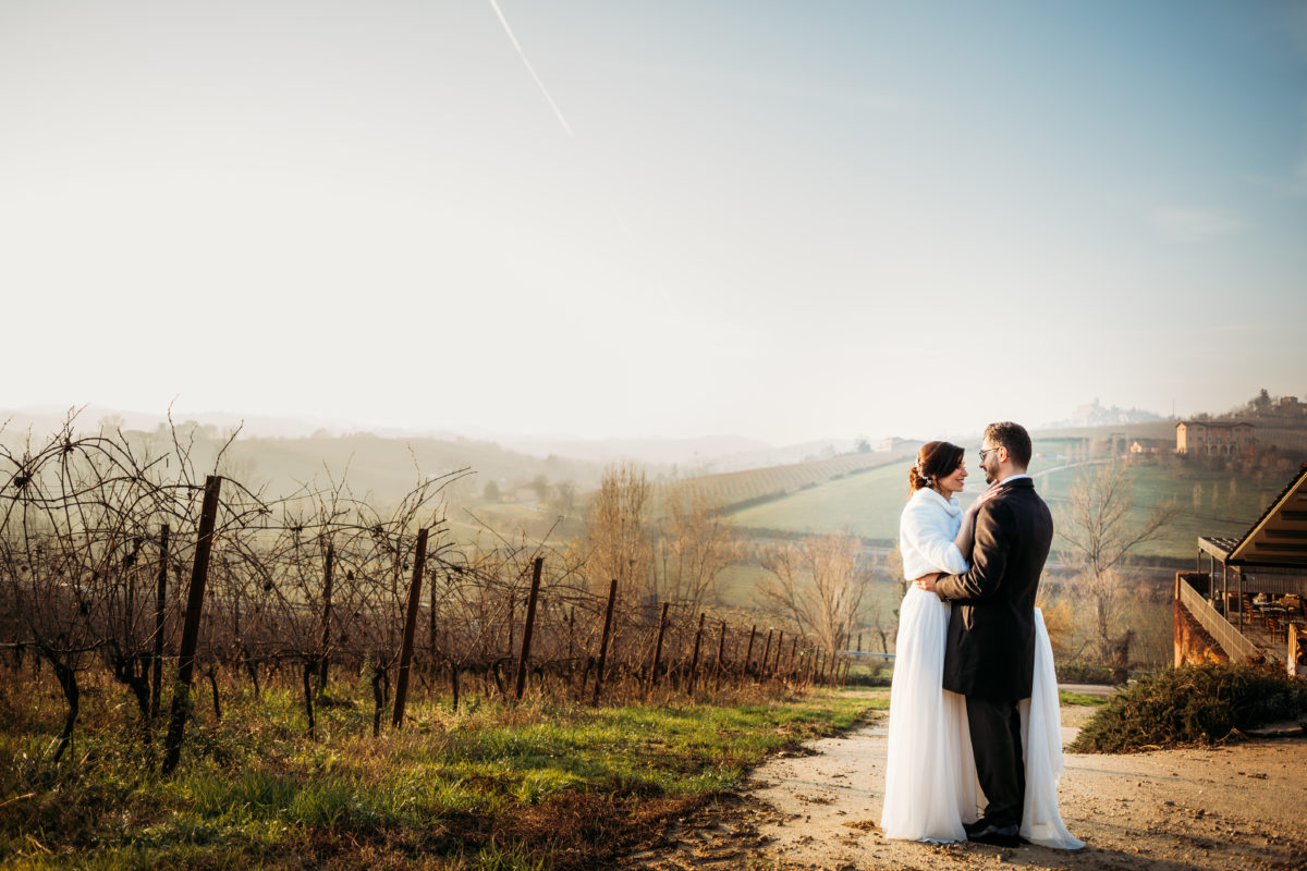 matrimonio in collina